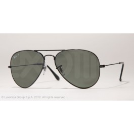 Occhiali da sole Ray Ban Aviator Nero rb3025 002/58