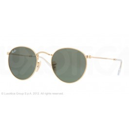 Occhiali da Sole Ray Ban Round Metal Oro rb3447 001