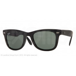 Occhiali da Sole Ray Ban Folding Wayfarer Nero rb4105 601S