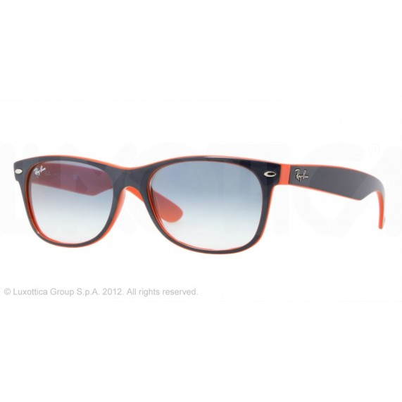 Occhiali da Sole Ray Ban New Wayfarer Blu rb2132 789/3F