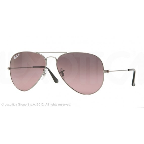 Occhiali da sole Ray Ban Aviator Canna di Fucile rb3025 004/77