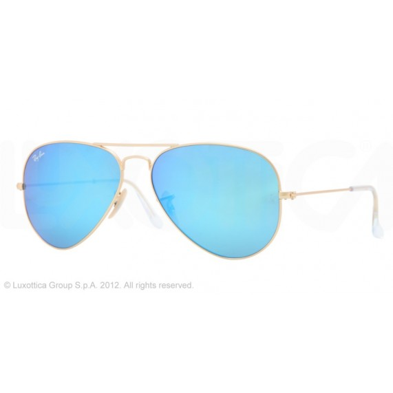 Occhiali da sole Ray Ban Aviator Oro rb3025 112/17