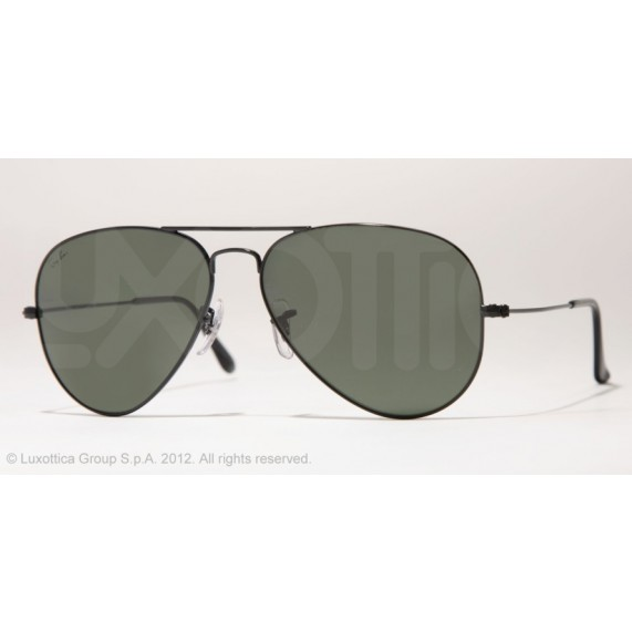 Occhiali da sole Ray Ban Aviator Nero rb3025 L2823