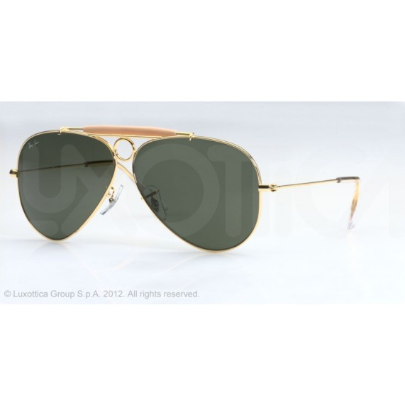 Occhiali da Sole Ray Ban Shooter Oro rb3138 001