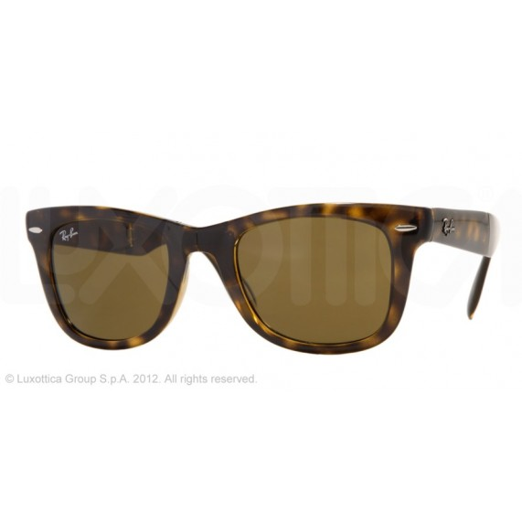 Occhiali da Sole Ray Ban Folding Wayfarer Avana rb4105 710