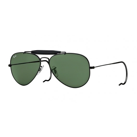 Occhiali Da Sole Ray Ban Outdoorsman Nero rb3030l9500