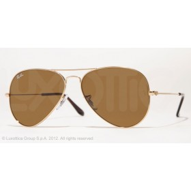 Occhiali da sole Ray Ban Aviator Oro rb3025 001/33