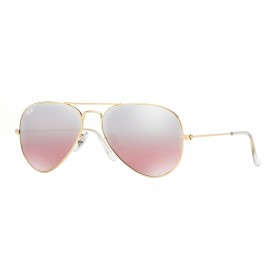 Occhiali da sole Ray Ban Aviator Oro rb3025 001/3E