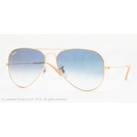 Occhiali da sole Ray Ban Aviator Oro rb3025 001/3F