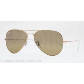 Occhiali da sole Ray Ban Aviator Oro rb3025 001/3K