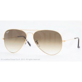 Occhiali da sole Ray Ban Aviator Oro rb3025 001/51