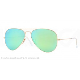 Occhiali da sole Ray Ban Aviator Oro rb3025 112/19