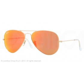 Occhiali da sole Ray Ban Aviator Oro rb3025 112/69