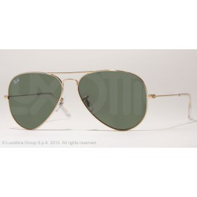 Occhiali da sole Ray Ban Aviator Oro rb3025 L0205