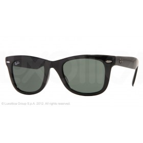 Occhiali da Sole Ray Ban Folding Wayfarer Nero rb4105 601