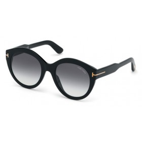 Occhiali da Sole Tom Ford Rosanna Nero ft0661 01b