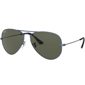 Occhiali da Sole Ray Ban Aviator Blu rb3025 918731