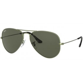 Occhiali da Sole Ray Ban Aviator Verde rb3025 919131