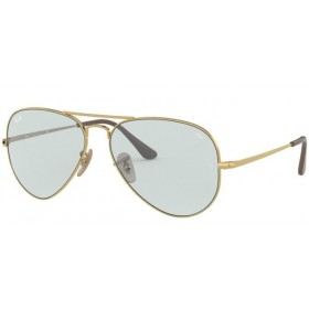 Occhiali da Sole Ray Ban Aviator Metal II Oro rb3689 001/t3