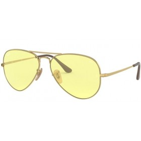 Occhiali da Sole Ray Ban Aviator Metal II Oro rb3689 001/t4