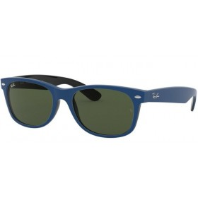 Occhiali da Sole Ray Ban New Wayfarer Blu rb2132 646331