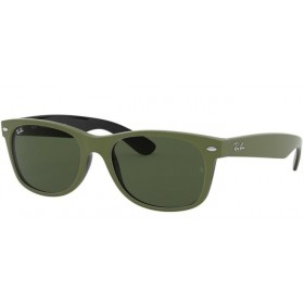 Occhiali da Sole Ray Ban New Wayfarer Verde rb2132 646531
