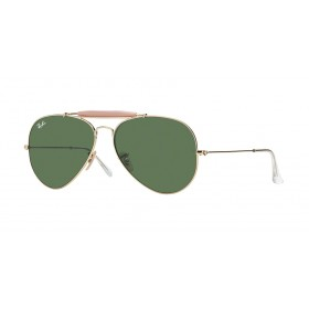 Occhiali da Sole Ray Ban OutdoorsmanII Oro rb3029 l2112