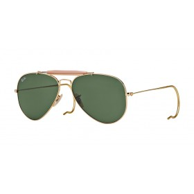Occhiali Da Sole Ray Ban Outdoorsman Verde rb3030 l0216