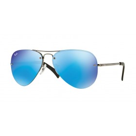Occhiali Da Sole Ray Ban Blu rb3449 004/55