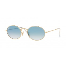 Occhiali Da Sole Ray Ban Oval Blu rb3547n 001/3f