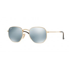 Occhiali da Sole Ray Ban Hexagonal Oro rb3548n 001/30