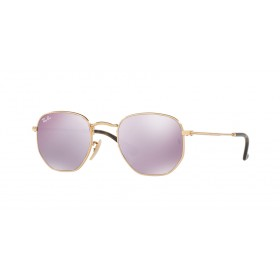 Occhiali da Sole Ray Ban Oro Hexagonal rb3548n 001/8o