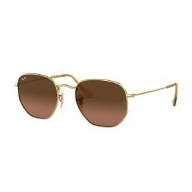 Occhiali da Sole Ray Ban Hexagonal Oro rb3548n 912443
