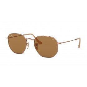 Occhiali da Sole Ray Ban Hexagonal Rame rb3548n 91314i