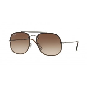Occhiali Da Sole Ray Ban Blaze The General Marrone rb3583n 004/13