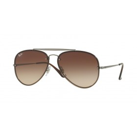 Occhiali Da Sole Ray Ban Blaze Aviator Marrone rb3584n 004/13
