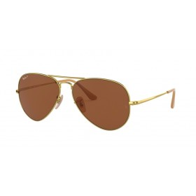 Occhiali da Sole Ray Ban Aviator Metal II Oro rb3689 906447