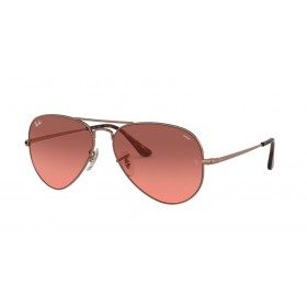 Occhiali da Sole Ray Ban Aviator Metal II Rame rb3689 9151aa