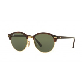 Occhiali da Sole Ray Ban Clubround Avana rb4246 990/58
