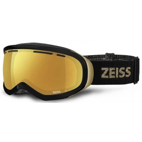 Maschera da Sci Zeiss Snow Goggles Nero Oro Serie Multilayer