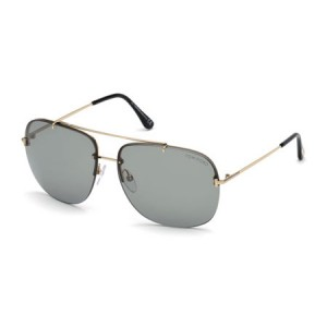 Occhiali da Sole Tom Ford Shelby02 Oro ft0620 28a