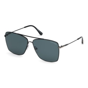 Occhiali da Sole Tom Ford Magnus-02 Nero ft0651 01v