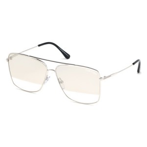 Occhiali da Sole Tom Ford Magnus-02 Argento ft0651 18c