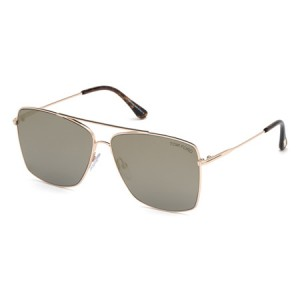 Occhiali da Sole Tom Ford Magnus-02 Oro ft0651 28c