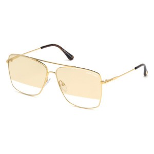 Occhiali da Sole Tom Ford Magnus-02 Oro ft0651 30c