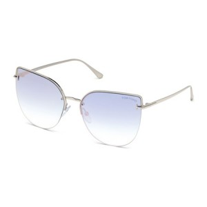 Occhiali da Sole Tom Ford Ingrid-02 Blu ft0652 16z