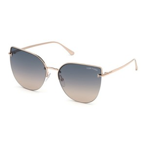Occhiali da Sole Tom Ford Ingrid-02 Oro ft0652 28b