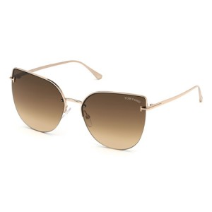 Occhiali da Sole Tom Ford Ingrid-02 Oro ft0652 28f