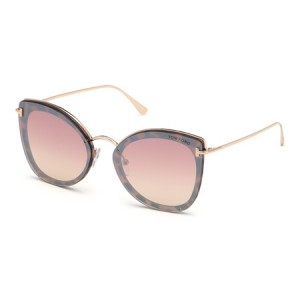 Occhiali da Sole Tom Ford Charlotte Rosa ft0657 55z