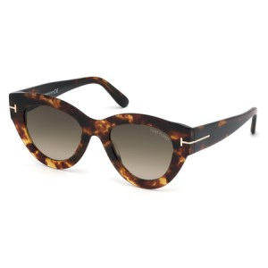Occhiali da Sole Tom Ford Slater Avana ft0658 55k